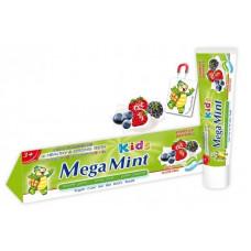 Дитяча зубна паста Mega Mint зі смаком лісових ягід 50 мл