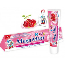 Дитяча зубна паста Mega Mint зі смаком вишні 50 мл