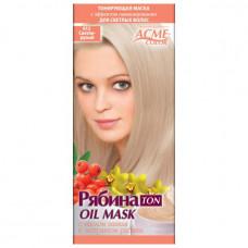 Тонувальна маска для волосся Acme Горобина Ton oil mask № 012 Світло-русявий 41 г