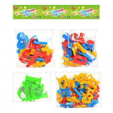 Набір іграшковий Літери-цифри 0703
