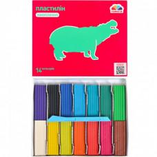Пластилін Гамма Захоплення 14 кольорів