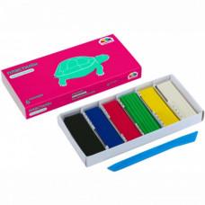 Пластилін Гамма Захоплення 6 кольорів