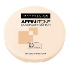 Компактна пудра для обличчя Maybelline Affinitone Light Sand Beige № 03