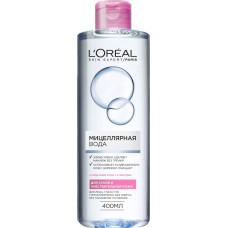 Міцелярна вода LOreal Paris Skin Expert для сухої та чутливої шкіри 400 мл
