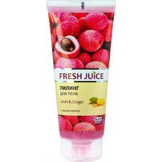 Пілінг для тіла Fresh Juice Litchi & Ginger 200 мл