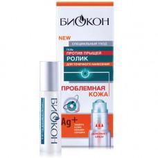 Роликовий гель проти прищів Біокон Проблемна шкіра 10 г