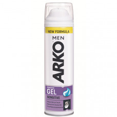 Гель для гоління ARKO Men Sensitive 200 мл