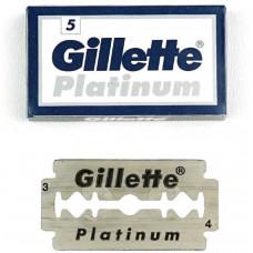 Двосторонні леза для гоління Gillette Platinum 5 шт