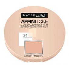 Компактна пудра для обличчя Maybelline Affinitone Golden beige № 24