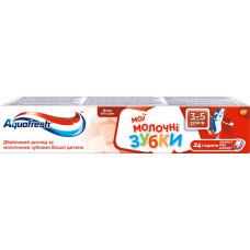 Дитяча зубна паста Aquafresh Мої молочні зубки (3-5 років) 50 мл