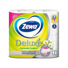 Туалетний папір Zewa Deluxe 3 шари з ароматом ромашки 4 шт