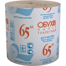 Туалетний папір Обухів 65 1 шар 8 шт