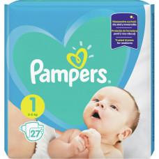 Підгузки Pampers New Baby розмір 1 (2-5 кг) 27 шт
