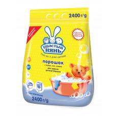 Пральний порошок для прання дитячої білизни Ушастый нянь  2400 г