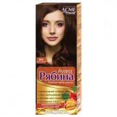 Крем-фарба для волосся Acme Горобина Avena № 042 Каштановий 161 г