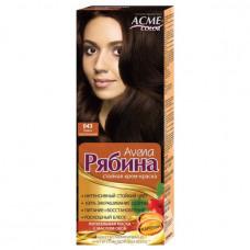 Крем-фарба для волосся Acme Горобина Avena № 043 Темно-каштановий 161 г