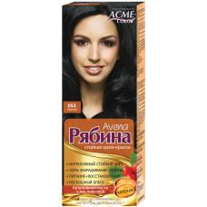 Крем-фарба для волосся Acme Горобина Avena № 053 Чорний 161 г