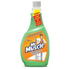 Засіб для миття скла Mr Muscle Професіонал з нашатирним спиртом запасний блок 500 мл