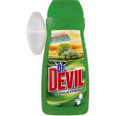 Гель для туалета Dr.Devil 3в1 Яблоко 400 мл