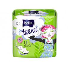 Гігієнічні прокладки Bella for Teens: Ultra Relax 10 шт