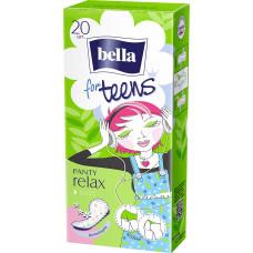 Щоденні гігієнічні прокладки Bella for Teens Ultra Relax 20 шт