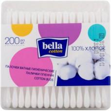 Ватні палички гігієнічні Bella Cotton 200 шт