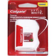 Зубна нитка Colgate Optic White 25 м 1 шт