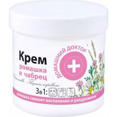 Крем Домашний Доктор Ромашка+Чебрець  250 мл