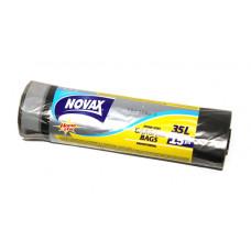 Пакети для сміття NOVAX 35 л 15 шт