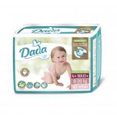 Підгузки Dada Extra Soft розмір 4+ maxi+ 9-20 кг 42 шт