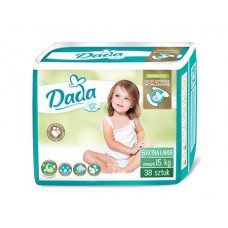 Підгузки Dada Extra Soft розмір 6 Extra Large 15+ кг 38 шт