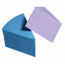 Спонжи TF Cosmetics СТТ23 для макіяжу трикутні 8 шт кольорові