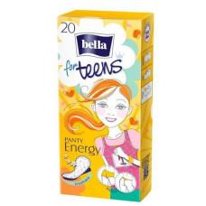 Щоденні гігієнічні прокладки Bella for Teens Ultra Energy 20 шт
