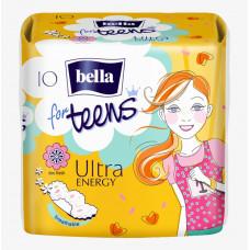 Гігієнічні прокладки Bella for Teens: Ultra Energy 10 шт