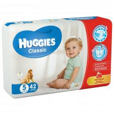 Підгузки Huggies Classic розмір 5 Jumbo 11-25 кг 42 шт