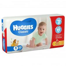 Підгузки Huggies Classic розмір 4 Jumbo 7-18 кг 50 шт