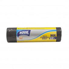Пакети для сміття NOVAX 160 л 10 шт