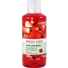 Піна для ванн Fresh Juice Strawberry&Red Bayberry 1000 мл