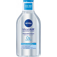 Міцелярна вода Nivea MicellAIR Дихання шкіри для нормальної та комбінованої шкіри 400 мл
