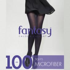 Колготки жіночі 100 Den мікрофібра Fantasy Grafit 2