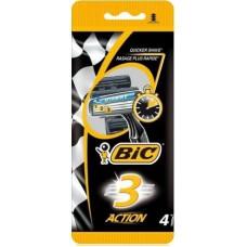 Одноразові станки BIC Action3 4 шт