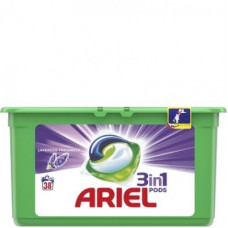 Капсули для прання Ariel 3в1  Color 38 шт
