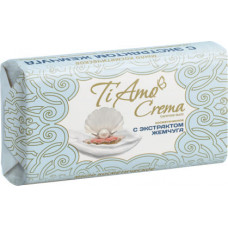 Косметичне мило тверде Ti Amo Crema з екстрактом перлів 140 г