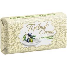 Косметичне мило тверде Ti Amo Crema з екстрактом оливи 140 г
