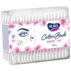 Ватні палички гігієнічні  Aura Beauty Make-Up 200 шт
