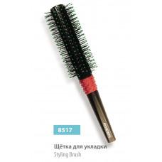 Щітка кругла для укладки (брашинг) SPL 8517 пластикова тонка