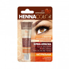 Крем-фарба для брів та вій Henna Color колір Коричневий в тубі