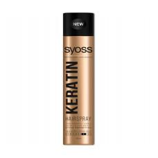 Лак для волосся SYOSS Keratin (фіксація 4) 400 мл
