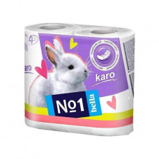 Туалетний папір Bella Karo 2 шари 4 шт
