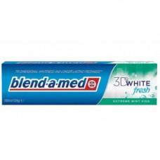 Зубна паста Blend-a-med 3D White Fresh Extreme Mint Kiss Мятний поцілунок